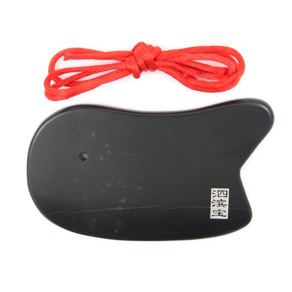 泗滨砭石标准刮痧板,砭石刮痧板图2