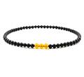 泗滨砭石黄水晶项链
