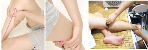 腿部刮痧减肥事半功倍