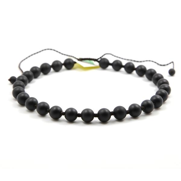 28珠砭石项链,砭石项链图1