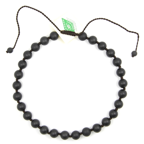 28珠砭石项链,砭石项链图2