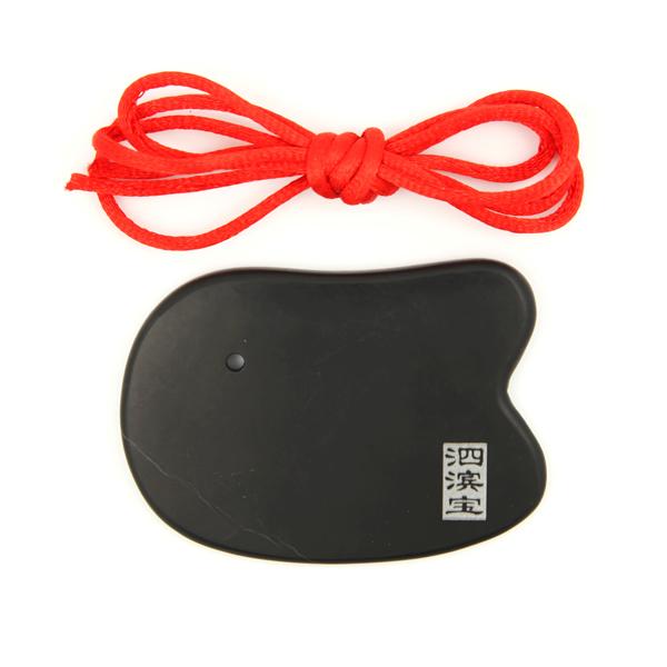 泗滨砭石美容刮痧板,砭石刮痧板图1