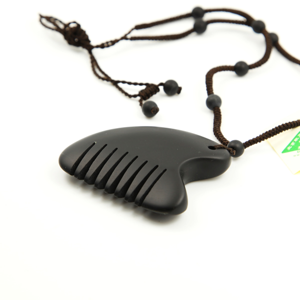 砭石梳子挂件图4