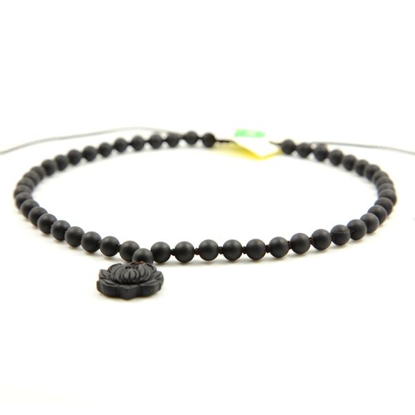 莲花砭石项链,砭石项链图1