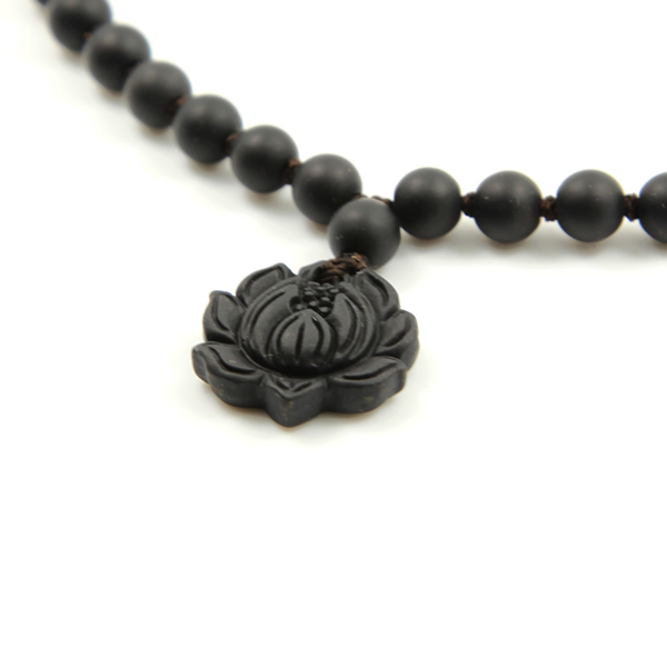 莲花砭石项链,砭石项链图2