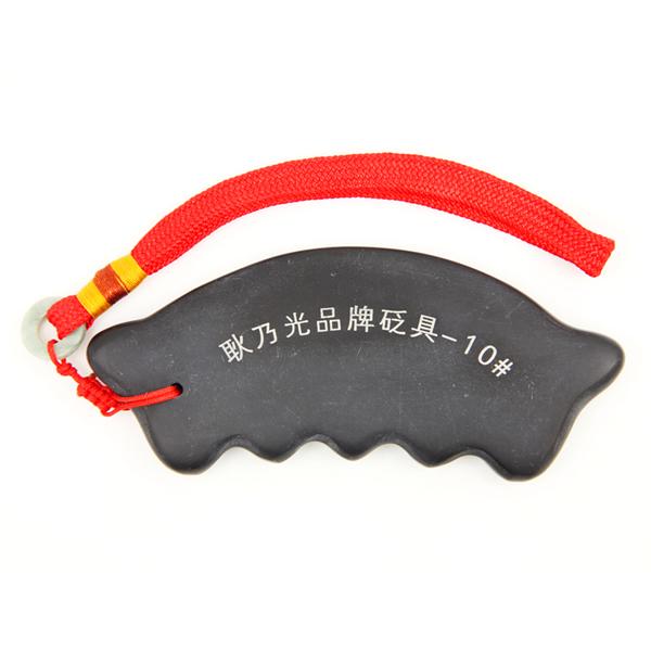 泗滨砭石按摩通络梳,砭石梳子图3