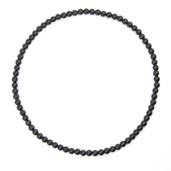 泗滨砭石7mm项链,砭石项链图2