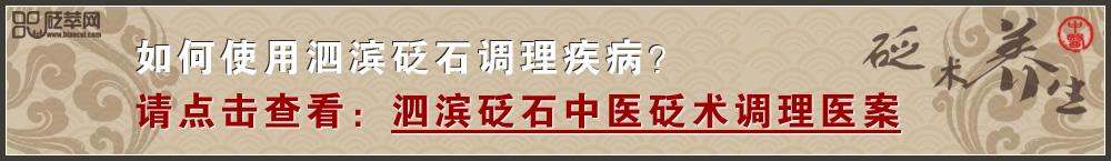 查看泗滨砭石中医砭术调理医案