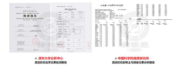 砭萃网 • 泗滨宝品牌说明:检测报告及资质4