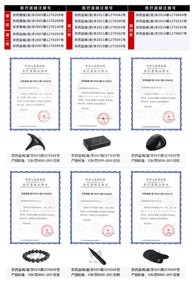 砭萃网 • 泗滨宝品牌说明:医疗器械注册证