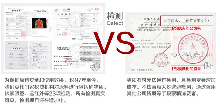 砭萃网 • 泗滨宝品牌说明:真假对比2
