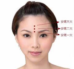 头部刮痧穴位图_女人失眠的砭石刮痧疗法-砭萃网:泗滨砭石,砭术与健康
