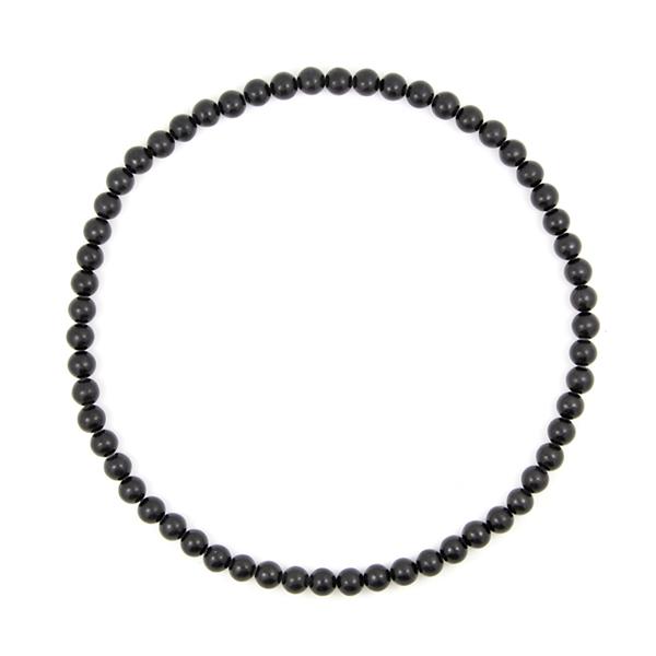 泗滨砭石9mm项链,砭石项链图2