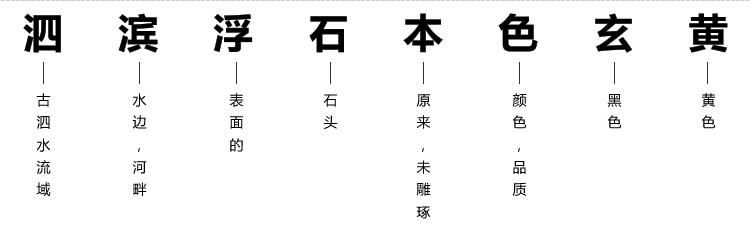 泗滨砭石原石特征